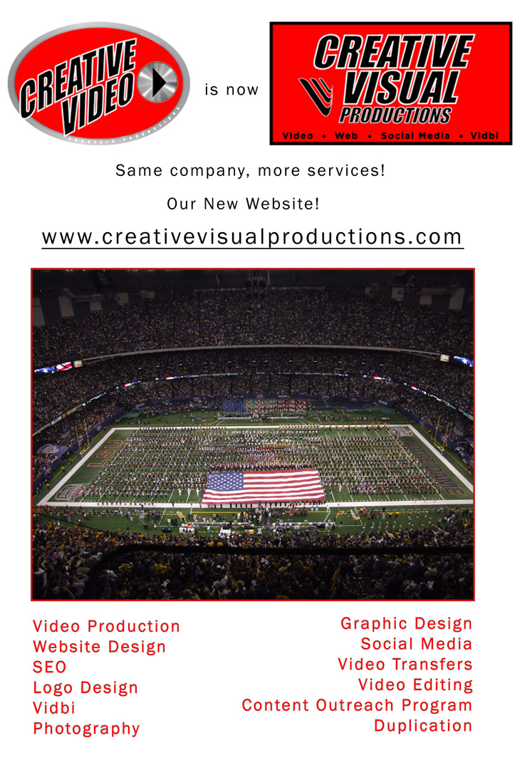 Creative Video is Now Creative Visual Productions, 26 Colonial Ave Woodbury NJ